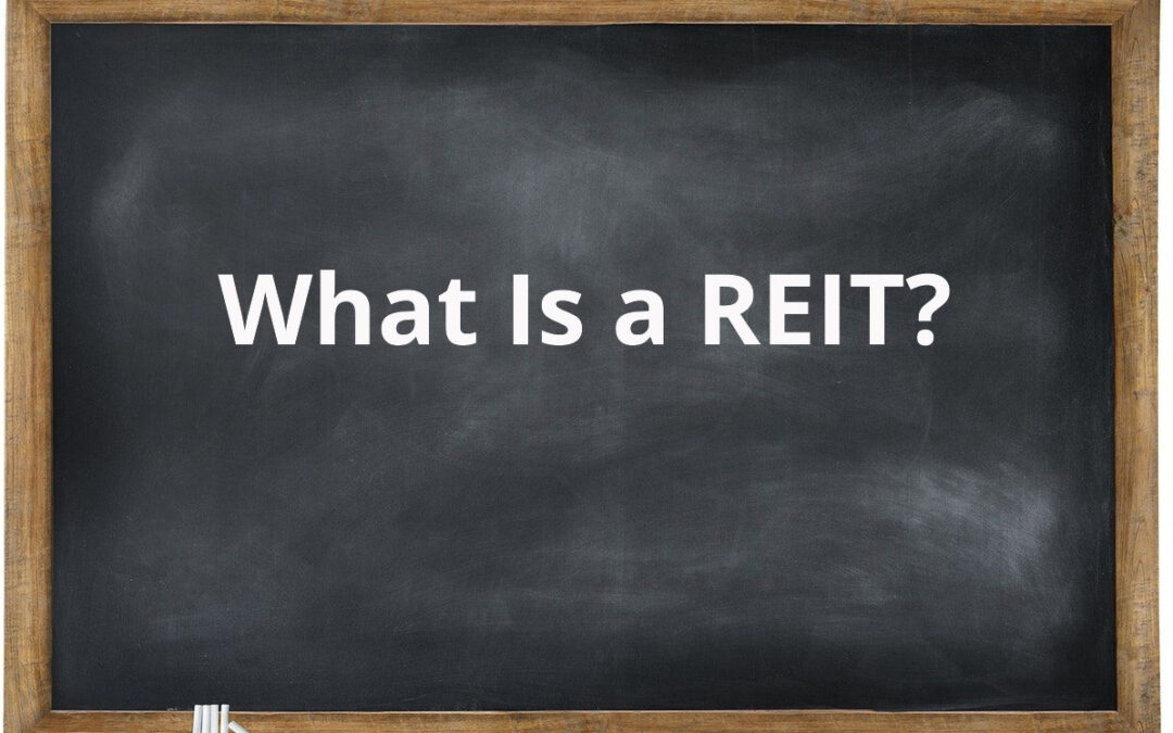 What is a REIT, and when was it created?